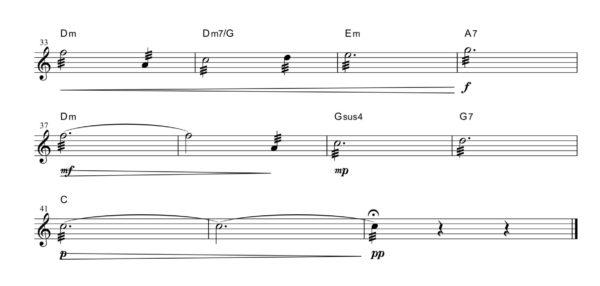 トレモロ練習曲1-2