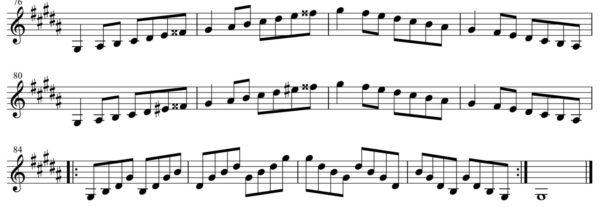 短調練習3-1