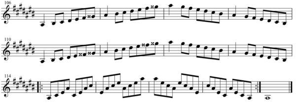 短調練習4-1