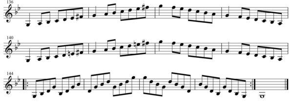 短調練習4-3