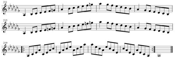 短調練習6-3