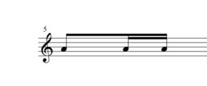 8分音符16分音符手順