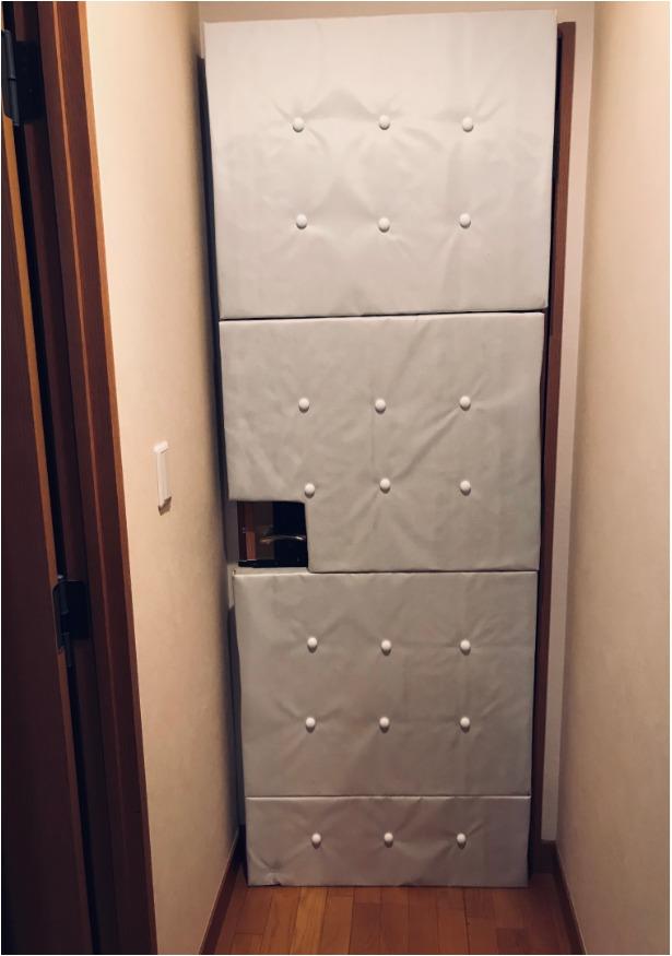ドア防音おもて