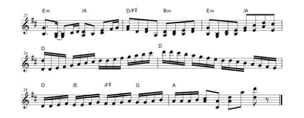 中級楽譜1-2