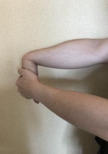 手首のストレッチ2